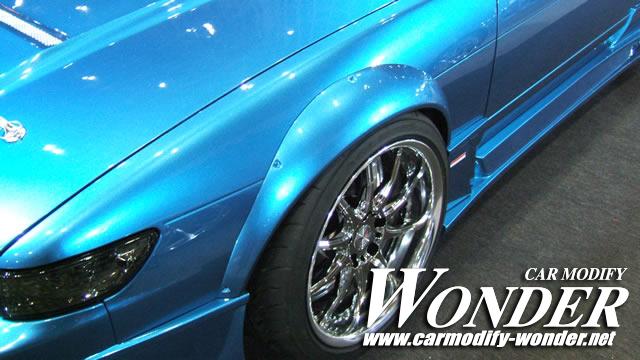 S13 Silvia Glare Aero Rear fenders 50mm