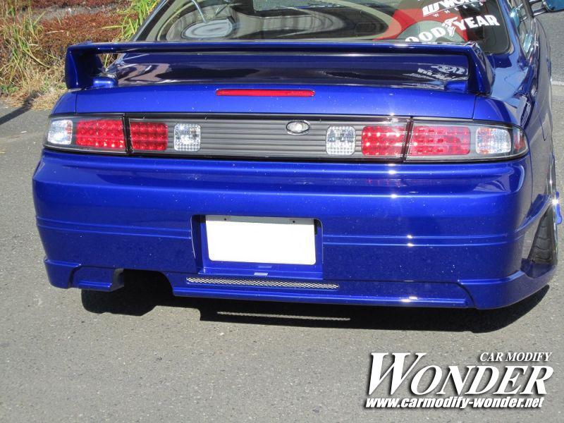 CMW Silvia s14 Zenki Rear Bumper 6