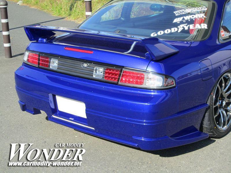CMW Silvia s14 Zenki Rear Bumper 8