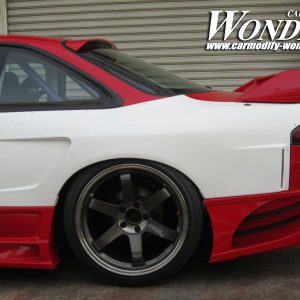 Glare Silvia S14 Zenki GT Rear Fenders 50mm