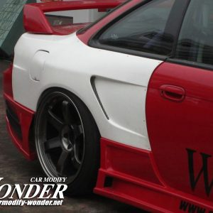Glare Silvia S14 Kouki GT Rear Fenders 50mm