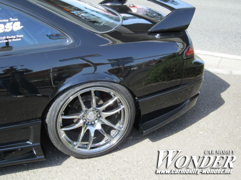CMW silvia s14 kouki Side Skirt 2