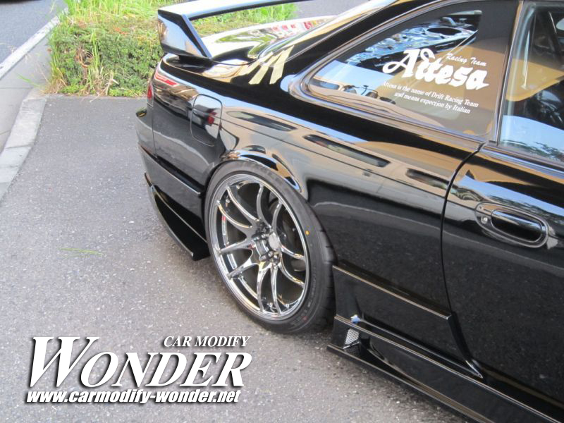 CMW silvia s14 kouki Side Skirt 3