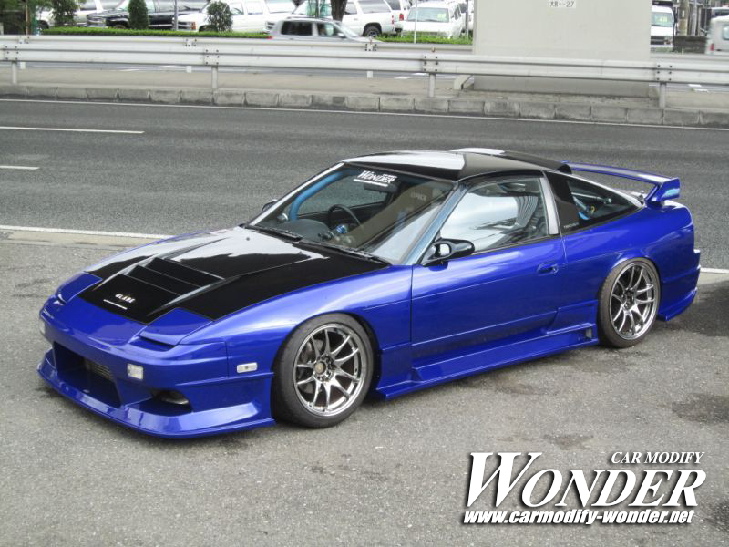 Car Modify Wonder 240sx/180sx Glare Full Body Kit  Car Modify Wonder