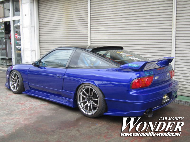 Car Modify Wonder 180sx Body Kit 3