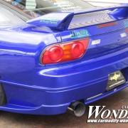 Car Modify Wonder 180sx Glare Rear bumper 4