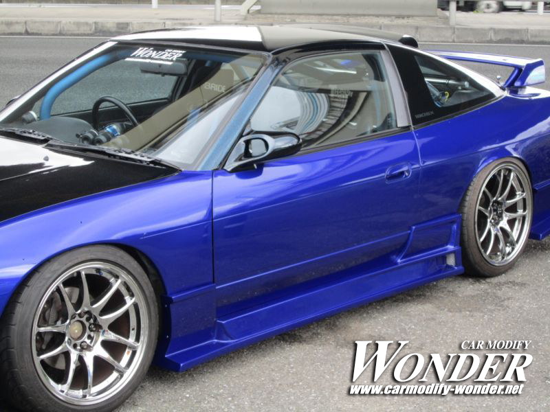 Car Modify Wonder 180sx Glare Side Skirt 5