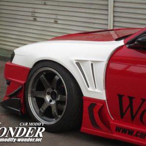 Glare Silvia s14 Kouki 50mm GT Front Fenders