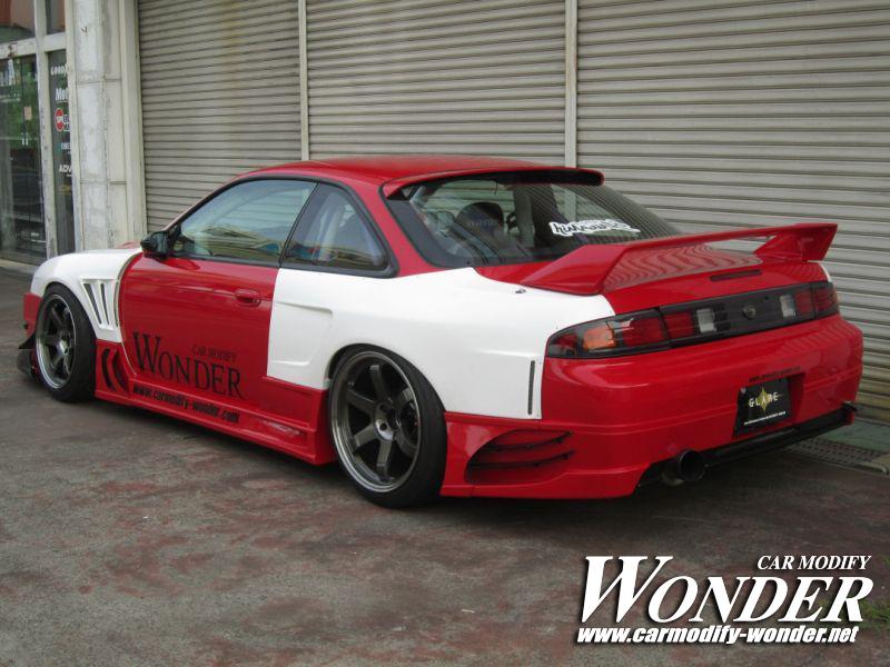 Car Modify Wonder Silvia s14 Kouki body kit 3
