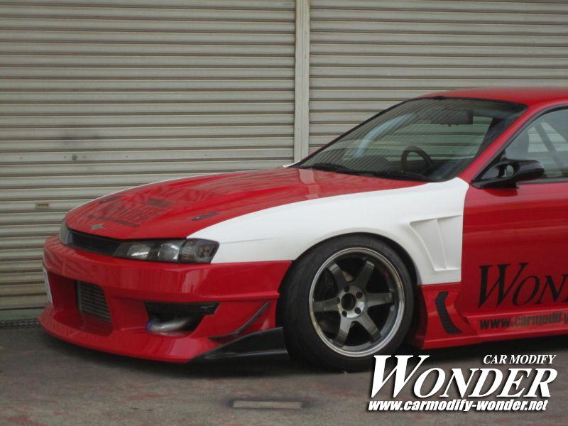 Car Modify Wonder Silvia s14 Kouki body kit 4