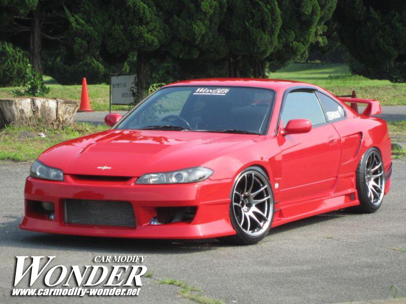 Glare Nissan Silvia S15 Front Bumper
