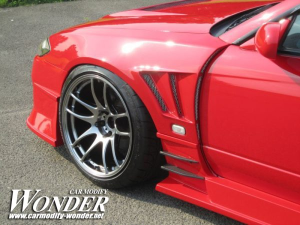 Glare Nissan Silvia s15 50mm GT Front Fender