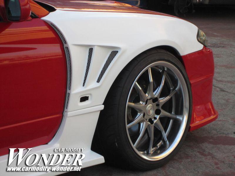 Car Modify Wonder s15 Front 50mm GT Fender 8