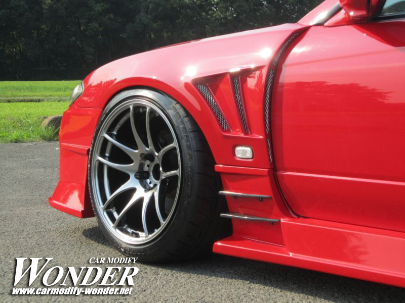 Car Modify Wonder s15 Front 50mm GT Fender