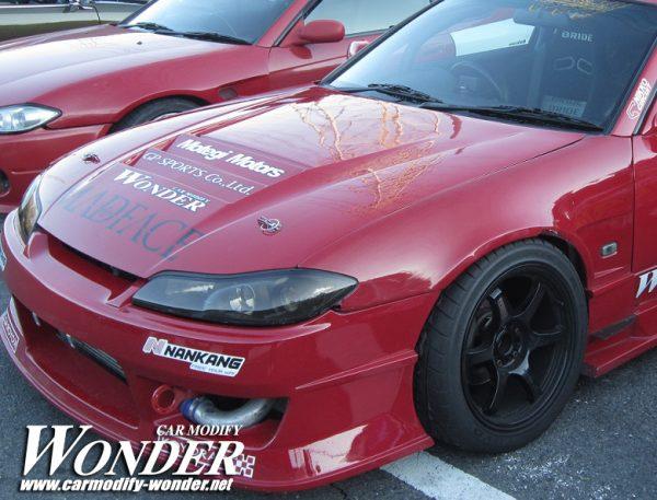 Glare Nissan Silvia S15 Lotus Hood