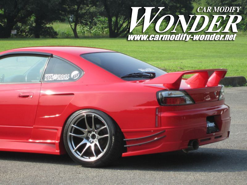 Car Modify Wonder s15 rear 50mm GT Fender 2