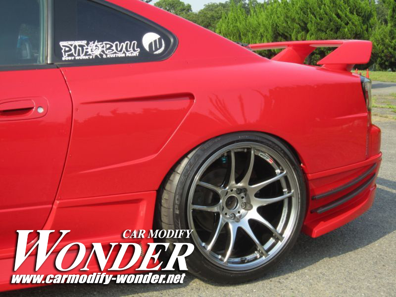 Car Modify Wonder s15 rear 50mm GT Fender 3