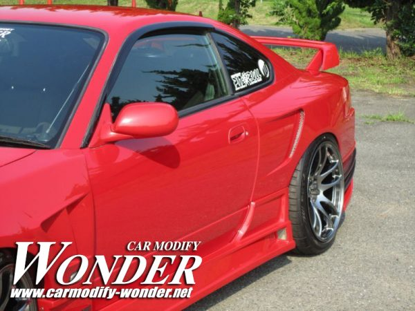 Glare Nissan Silvia S15 50mm GT Rear Fenders