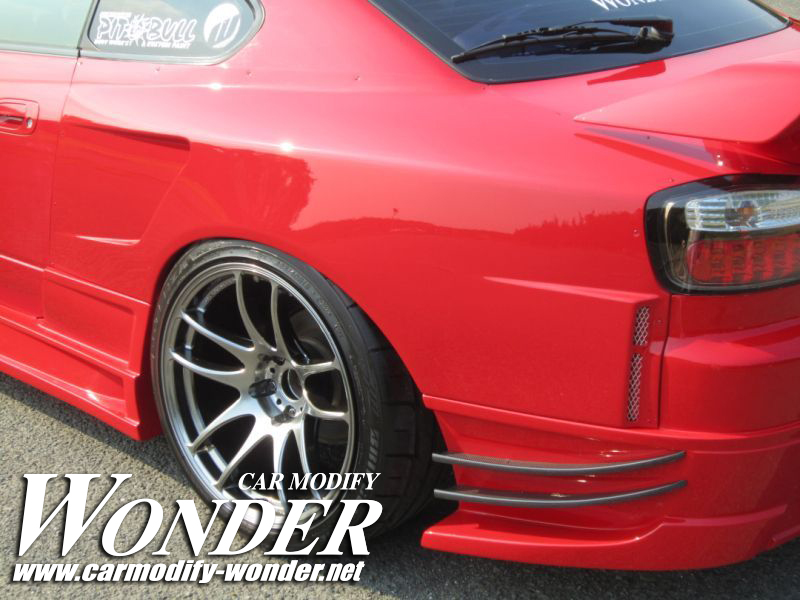 Car Modify Wonder s15 rear 50mm GT Fender 6