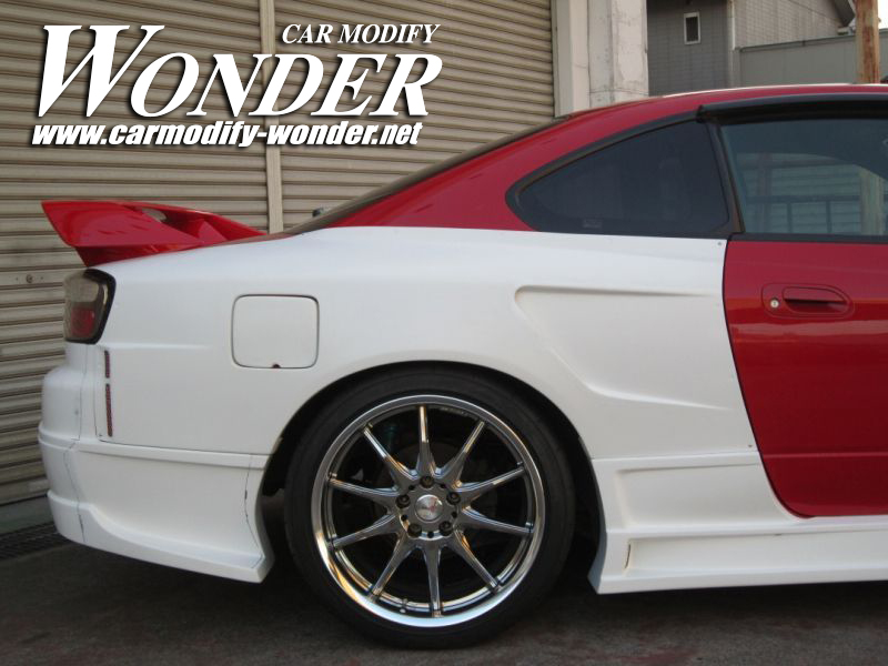Car Modify Wonder s15 rear 50mm GT Fender 7