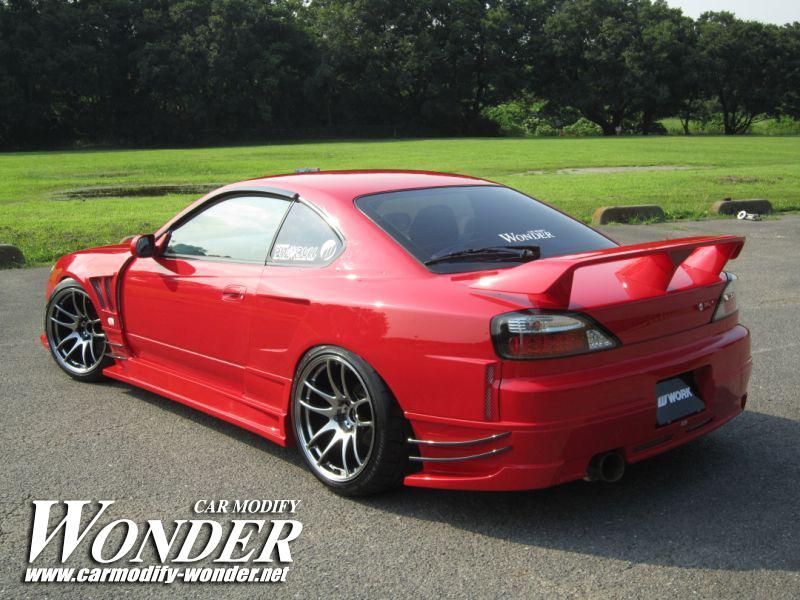 Glare Nissan Silvia S15 Rear Bumper