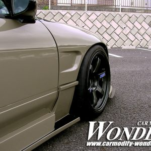 Glare Nissan 180SX / 240sx SD 50mm Front Fenders