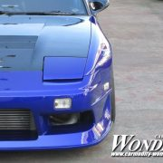 Car modify Wonder 30mm Fender Flare 180sx Front