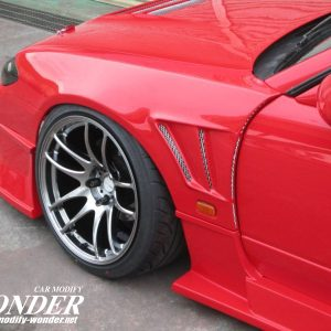Glare Nissan Silvia s15 30mm GT Front Fender