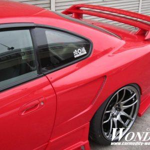 Glare Nissan Silvia S15 30mm GT Rear Fenders