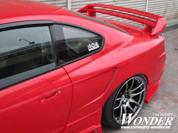 Glare Nissan Silvia S15 30mm GT Rear Fenders