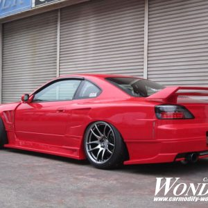 Glare Nissan Silvia s15 Twin Blade Rear Wing