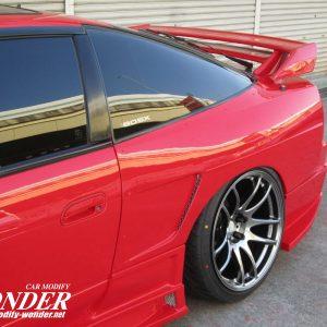 Glare 180sx 240sx 30mm Rear fenders GT