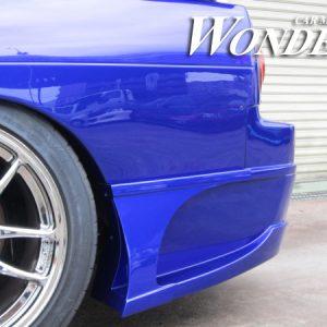 Glare Rear Bumper Option Type 1