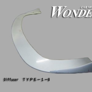 Glare Front Bumper Diffuser Option Type 1B