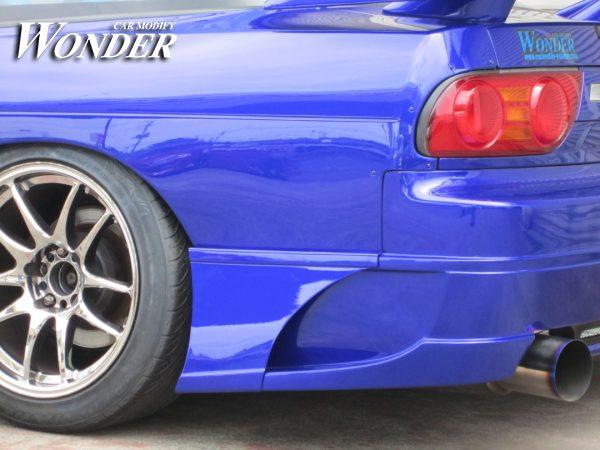 Glare Rear Bumper Option Type 1C