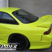 Glare Silvia S14 GT Rear Fenders 30mm