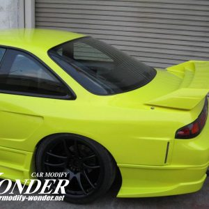 Glare Silvia S14 GT Rear Fenders 30mm
